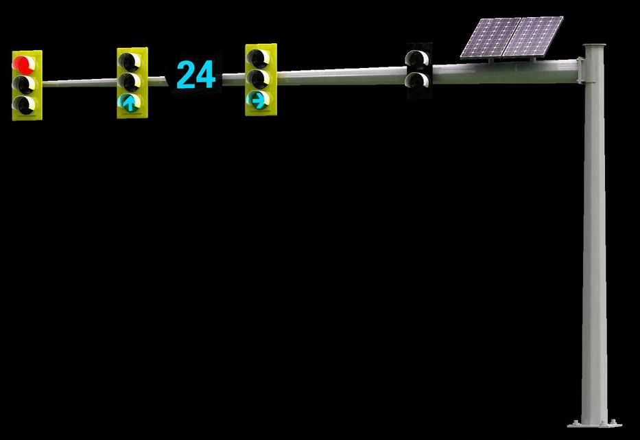 太阳能交通灯、交通信号灯