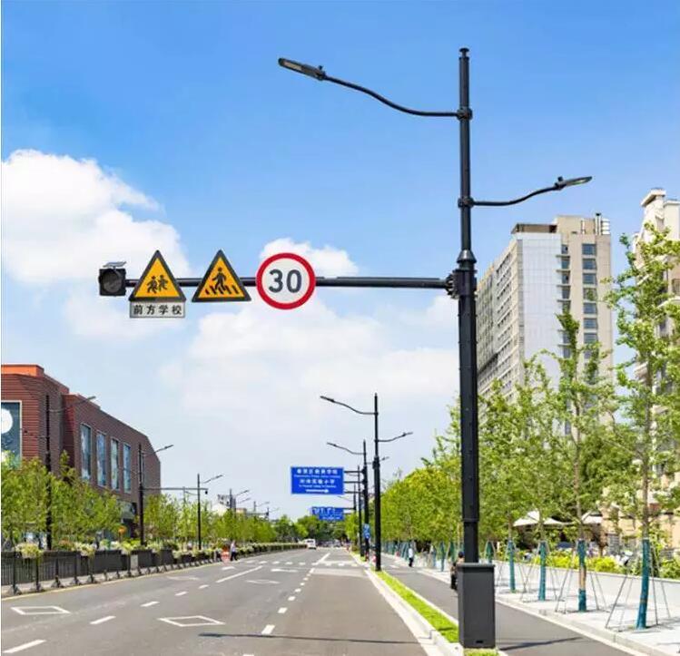 交通照明多杆合一杆