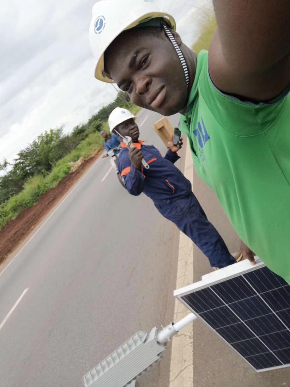 非洲科特迪瓦太阳能路灯工程